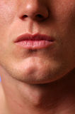 Cleft chin Stock Photo
