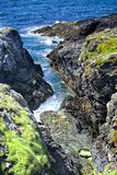 Cleft. On south of Isle of Man Royalty Free Stock Photography
