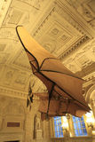 Clement Ader airplane, Musee des arts et metiers, Paris Stock Photography