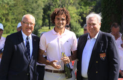 Clement Sordet at Le Vaudreuil golf challenge, France Stock Image