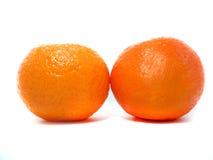 Clementina fresca Imagens de Stock