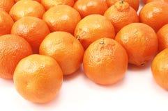 Clementinas Fotos de archivo