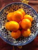 clementinas Fotografía de archivo libre de regalías