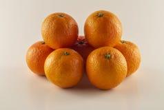 Clementinas, agrios del otoño anaranjados foto de archivo