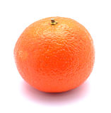 Clementine. Isolated on a white background stock images