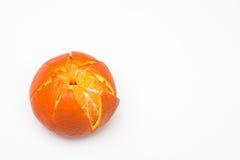 Clementine cięcie Zdjęcie Royalty Free