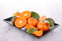 Clementine Stock Photo