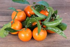 Clementine mandarin Stock Photo