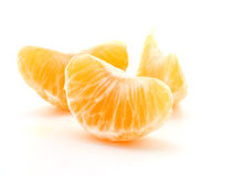 Clementine orange wedges Royalty Free Stock Photography