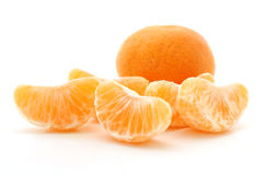 Clementine oranges Royalty Free Stock Images