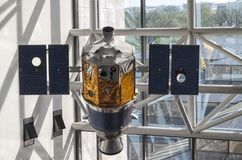 Clementine Spacecraft stock afbeelding