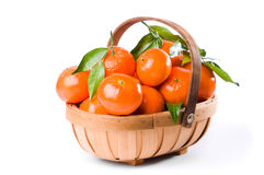 Clementine Trug Stock Photography