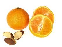 clementines Бразилии nuts Стоковое фото RF