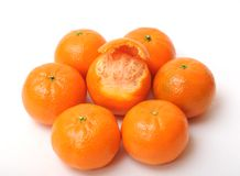 Clementines Obrazy Stock