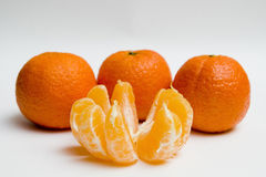 clementines cztery obrazy stock