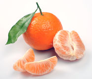 clementines segmenty Fotografia Royalty Free