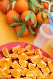 Clementines tangerines Stock Images