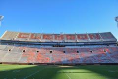 Clemson universitetfotbollsarena Death Valley Royaltyfri Bild