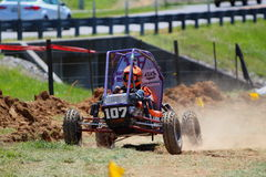 CLEMSON UNIVERSITY BAJA NUMBER 107 Royalty Free Stock Photo