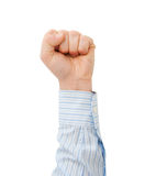 Clench one's fist Royalty Free Stock Photo