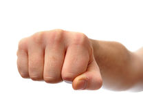 Clenched Fist stock image