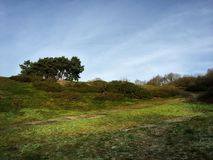 Clent wzgórza, Worcestershire obraz stock
