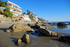 Cleo Street Beach, Laguna Beach, California. Stock Photo
