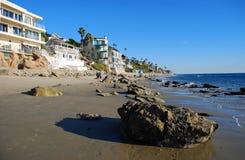 Cleo Street Beach Laguna Beach, Kalifornien Arkivfoton