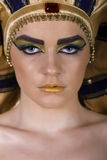 Cleopatra. Egyptian Woman in Cleopatra style stock photography