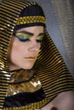 Cleopatra. Egyptian Woman in Cleopatra style stock photos