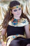 Cleopatra misteriosa Fotografie Stock Libere da Diritti