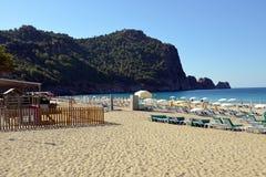 Cleopatra Beach of Alanya, Turkey Stock Image
