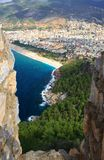 Cleopatra Beach in Turkey Royalty Free Stock Image
