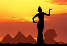 Cleopatra in Egypt Stock Photo