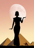 Cleopatra in Egypt Stock Photography