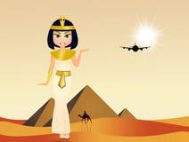 Cleopatra in Egypt Royalty Free Stock Photo
