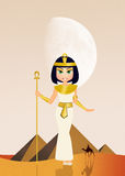 Cleopatra in Egypt Royalty Free Stock Photo