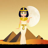 Cleopatra in Egypt Royalty Free Stock Photography