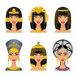 Cleopatra Egyptian Queen Fotos de archivo