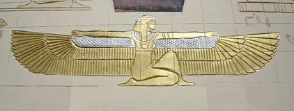 Cleopatra mural in dahab Stock Photo