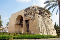 cleopatra port royaltyfri bild