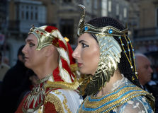 Cleopatra and Rameses Royalty Free Stock Photography