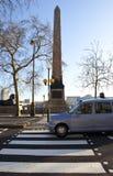 Cleopatra's Needle on London Embankment Royalty Free Stock Photos