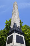 Cleopatra's Needle in London Stock Photo