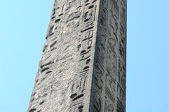 Cleopatra's Needle in New York Stock Image