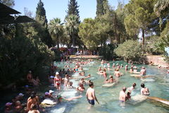 Cleopatra S Pool, Pamukkale Royalty Free Stock Photography