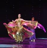 Cleopatra-Turkey belly dance-the Austria's world Dance Stock Image