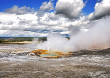 Clepsydra geyser Royalty Free Stock Images