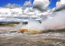 Clepsydra geyser Royalty Free Stock Images
