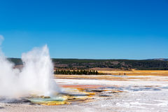 Clepsydra Geyser View Royalty Free Stock Photo
